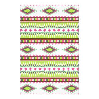 Aztekisches Muster Büropapier