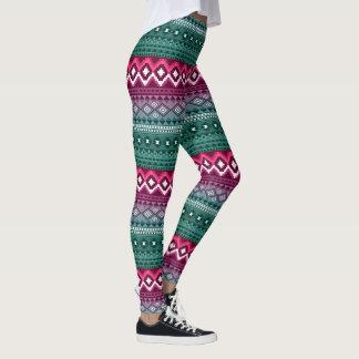 Aztekisches Muster stilvoll Leggings