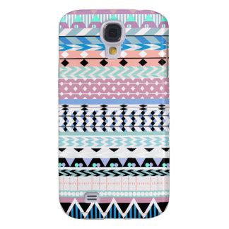 Aztekisches Pastellmuster Galaxy S4 Hülle
