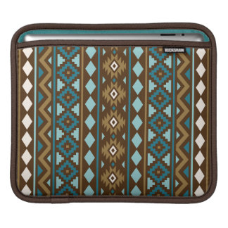 Aztekisches Wesentliches vertikale Ptn III iPad Sleeve