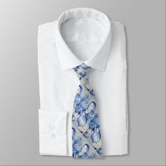 Azulejo Wandgemälde Krawatte