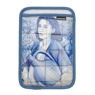 Azulejo Wandgemälde Sleeve Für iPad Mini