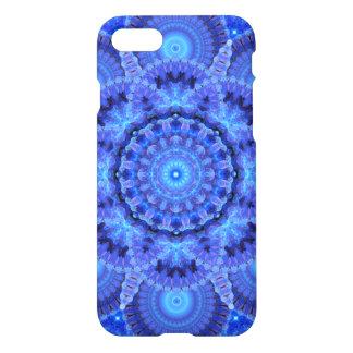 Azurblaue Harmonie-Mandala iPhone 8/7 Hülle