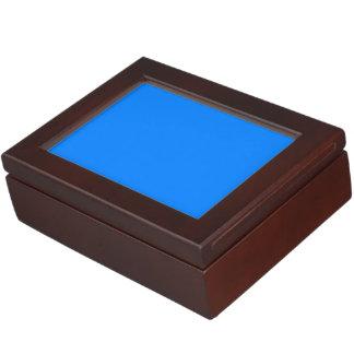 Azurblauer Normallack fertigen es besonders an Erinnerungsdose