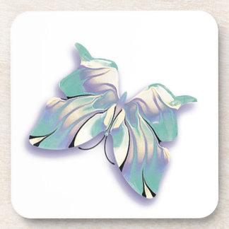 azurblauer Schmetterling Getränkeuntersetzer