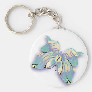 azurblauer Schmetterling Schlüsselanhänger
