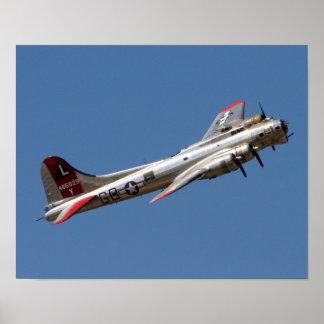B-17 G Yankee-Dame Poster