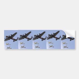 B-25 Mustang des Befreier-P-51 Autoaufkleber