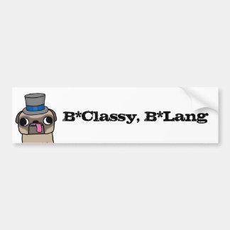 B*Classy, B*Lang Autoaufkleber