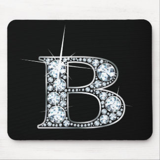 """B-"" Diamant Bling Mousepad"