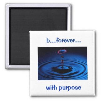 b… für immer… mit Zweck Quadratischer Magnet