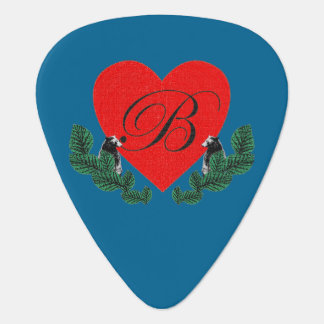 B in einem Herzen Plektrum