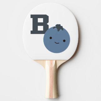 B ist für Blaubeere Tischtennis Schläger