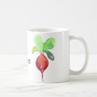 B ist für rote Rübe Kaffeetasse