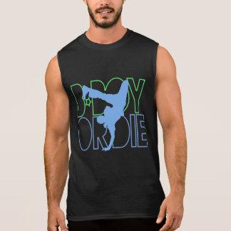 B-Junge oder die Silhouette Ärmelloses Shirt
