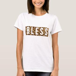 B L Leoparddruck E S S T-Shirt