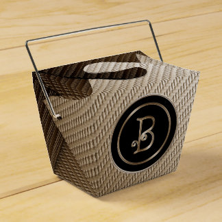 B-Monogramm Geschenkschachtel