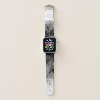 B&W abstrakte Facetten - Apple-Uhrenarmband Apple Watch Armband