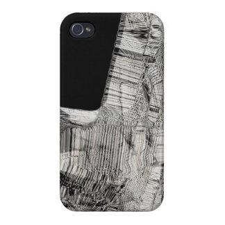 B&W abstrakter Entwurf iPhone 4 Schutzhüllen