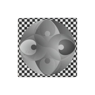 B/W Balance durch Kenneth Yoncich Stein-Magnet