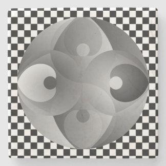 B/W Balance durch Kenneth Yoncich Steinuntersetzer