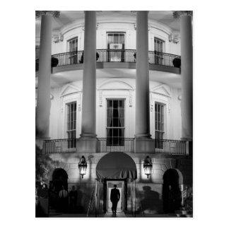 B&W das Weiße Haus 2 Postkarte