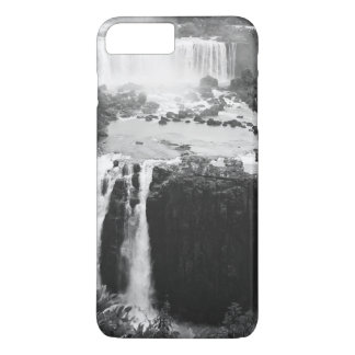B&W die Iguaçu-Wasserfälle iPhone 8 Plus/7 Plus Hülle