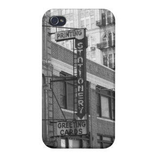 B&W Gebäude iPhone 4/4S Hülle