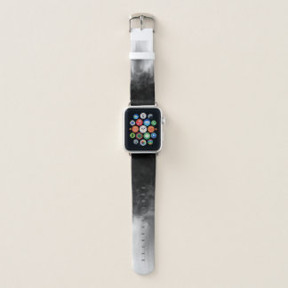 B&W gepunktete Unschärfe - Apple-Uhrenarmband Apple Watch Armband
