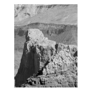 B&W Grand Canyon 3 Postkarte