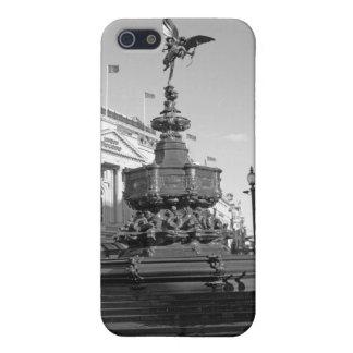 B/W iPhone Fall von der Statue von Eros London Etui Fürs iPhone 5