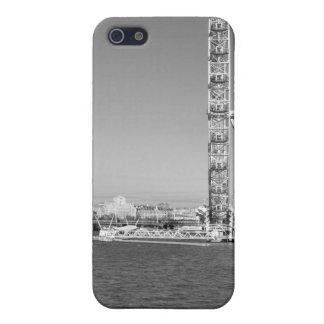 B/W iPhone Fall von der Themse London iPhone 5 Case