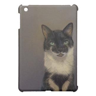 B&W Katze iPad Mini Hülle