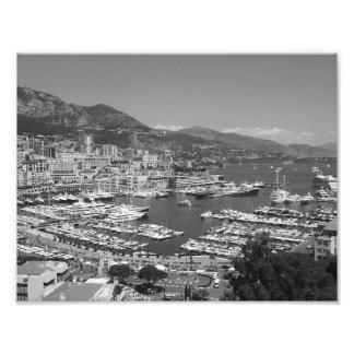 B&W Monaco Fotografien