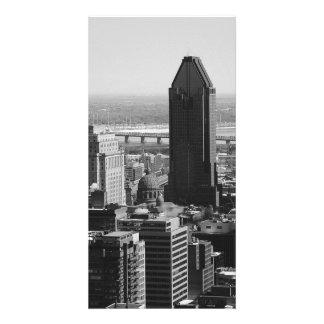 B&W Montreal 2 Personalisierte Foto Karte