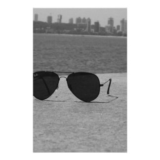 B&W Sonnenbrille u. Mumbai Individuelles Druckpapier