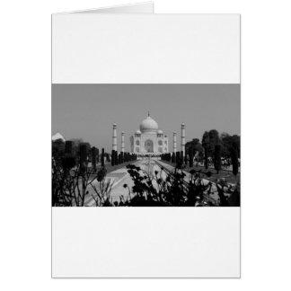 B&W Taj Mahal 2 Karte
