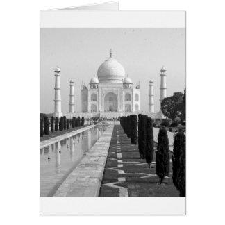 B&W Taj Mahal 3 Karte
