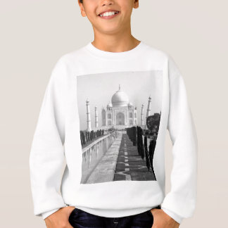 B&W Taj Mahal 3 Sweatshirt