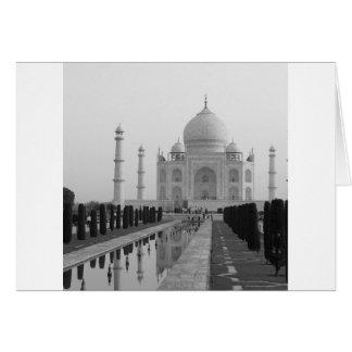 B&W Taj Mahal 4 Karte