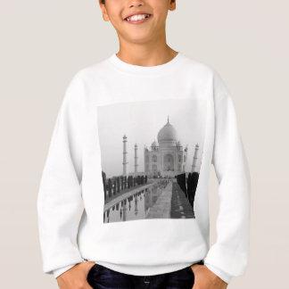 B&W Taj Mahal 4 Sweatshirt