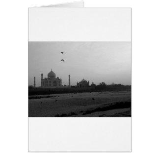 B&W Taj Mahal 5 Karte