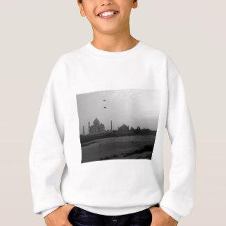 B&W Taj Mahal 5 Sweatshirt