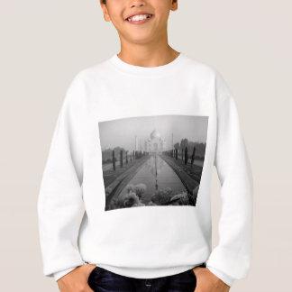 B&W Taj Mahal Sweatshirt