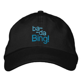 BA-DA-BING! Kappe Bestickte Baseballkappe