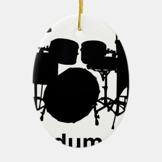 Ba Dum Tss Keramik Ornament