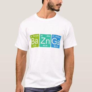 Ba-Zn GA! Periodischer Tabellenelement-T - Shirt