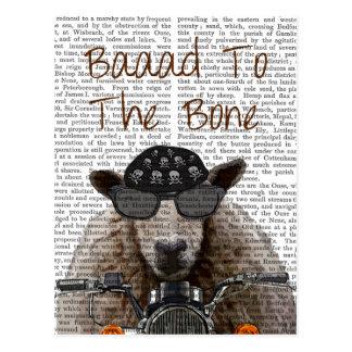 Baaad zum Knochen Postkarte