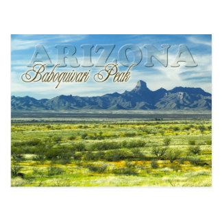 Baboquivari Höchstwildnis, Arizona Postkarte