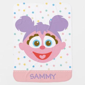 Baby Abby Cadabby großes Gesicht   addieren Ihren Kinderwagendecke